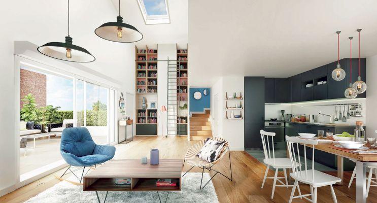Photo du Résidence « Les Apparts - Côté Sud » programme immobilier neuf en Loi Pinel à Neuilly-sur-Marne