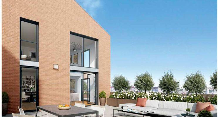 Photo du Résidence « Villapollonia » programme immobilier neuf en Loi Pinel à Neuilly-sur-Marne
