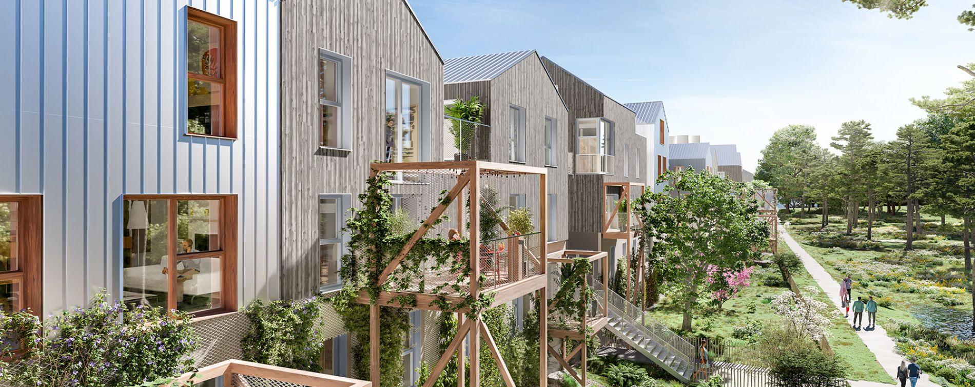 Noisy-le-Grand : programme immobilier neuve « Belle-Île-en-Marne » en Loi Pinel