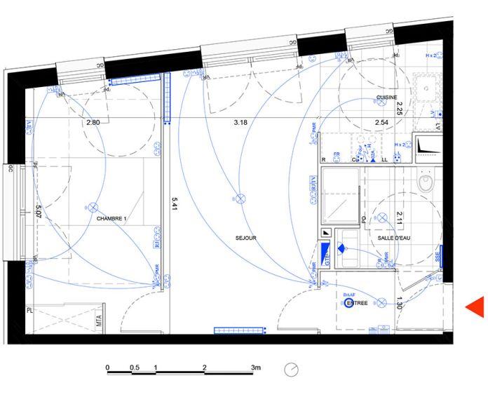 Plan T2 neuf à Noisy-le-Grand de