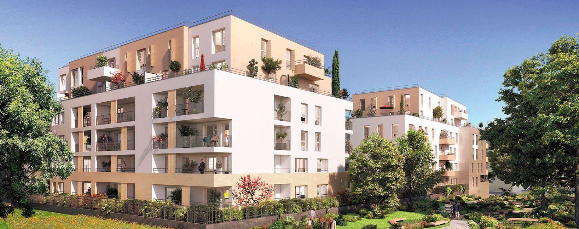 Noisy-le-Grand : programme immobilier neuve « Sur Parc »