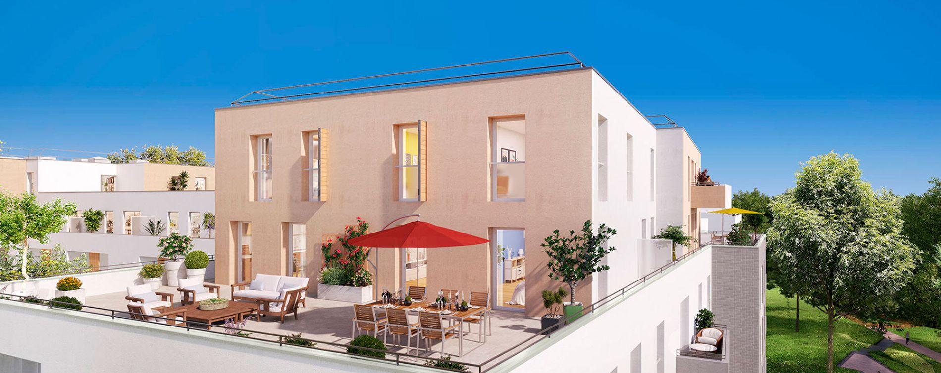 Noisy-le-Grand : programme immobilier neuve « Sur Parc » (2)