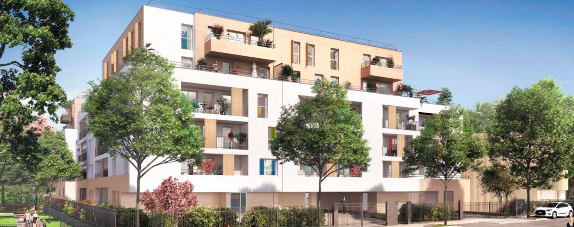 Noisy-le-Grand : programme immobilier neuve « Sur Parc » (3)