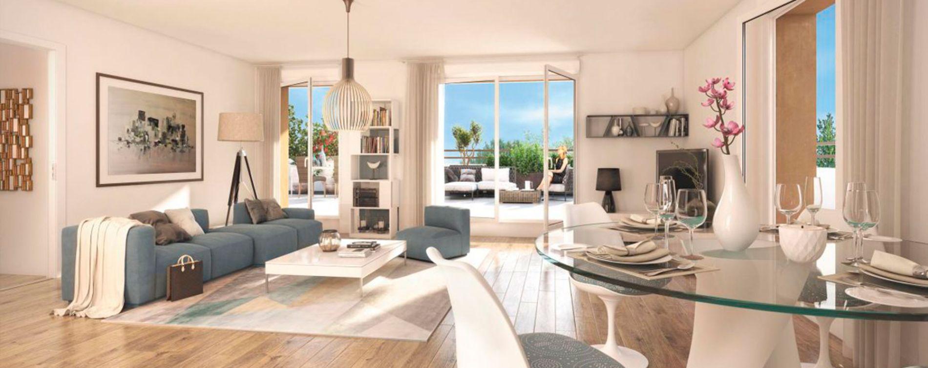 Noisy-le-Grand : programme immobilier neuve « Sur Parc » (4)