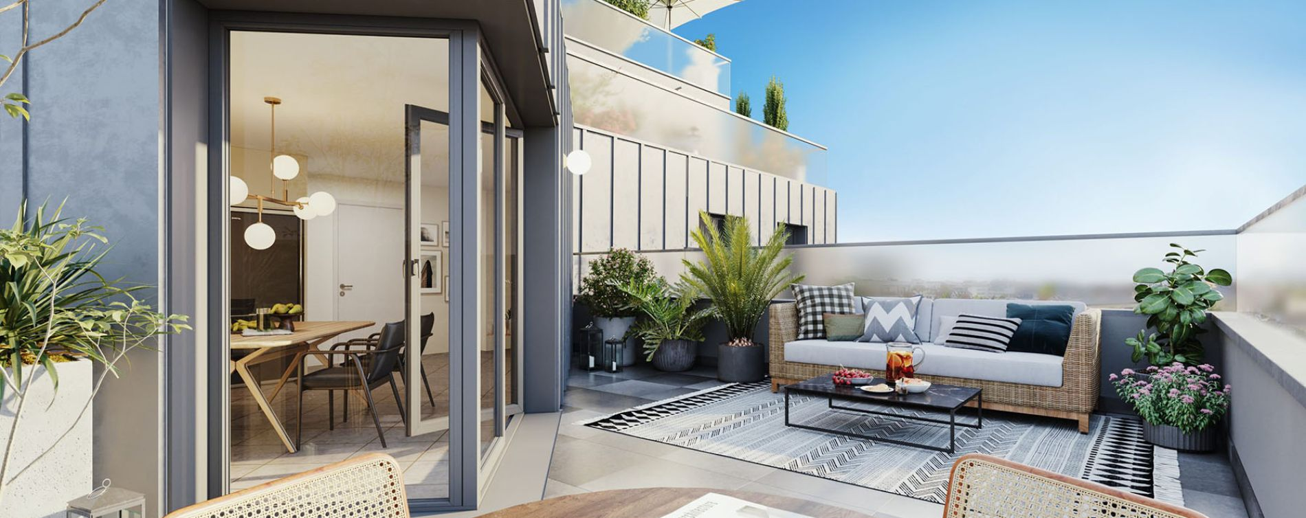 Noisy-le-Sec : programme immobilier neuve « Novo » en Loi Pinel (3)
