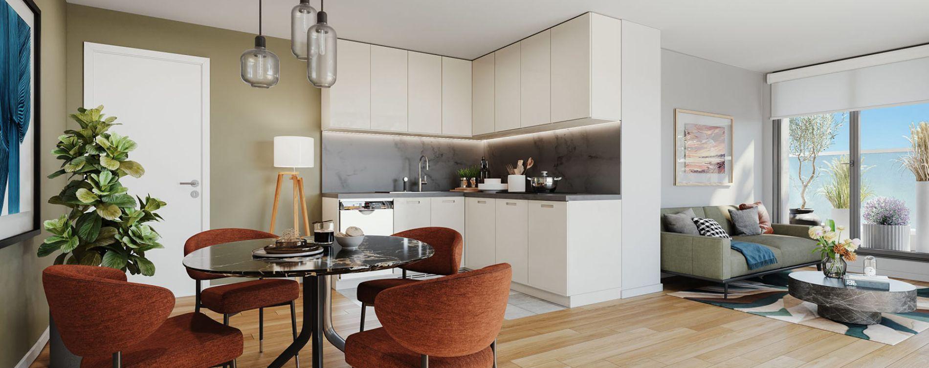 Noisy-le-Sec : programme immobilier neuve « Novo » en Loi Pinel (4)