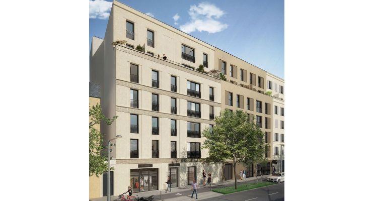 Pierrefitte-sur-Seine : programme immobilier neuf « Elisée » en Loi Pinel