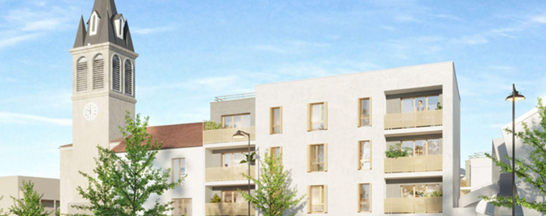 Pierrefitte-sur-Seine : programme immobilier neuve « La Place »