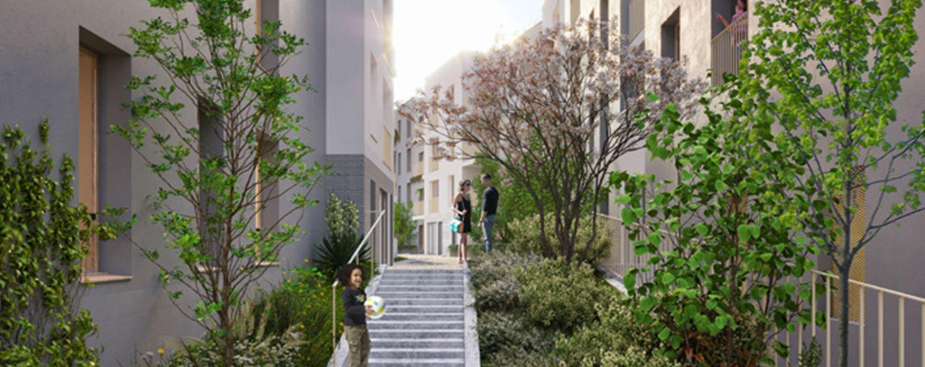 Pierrefitte-sur-Seine : programme immobilier neuve « La Place » (2)