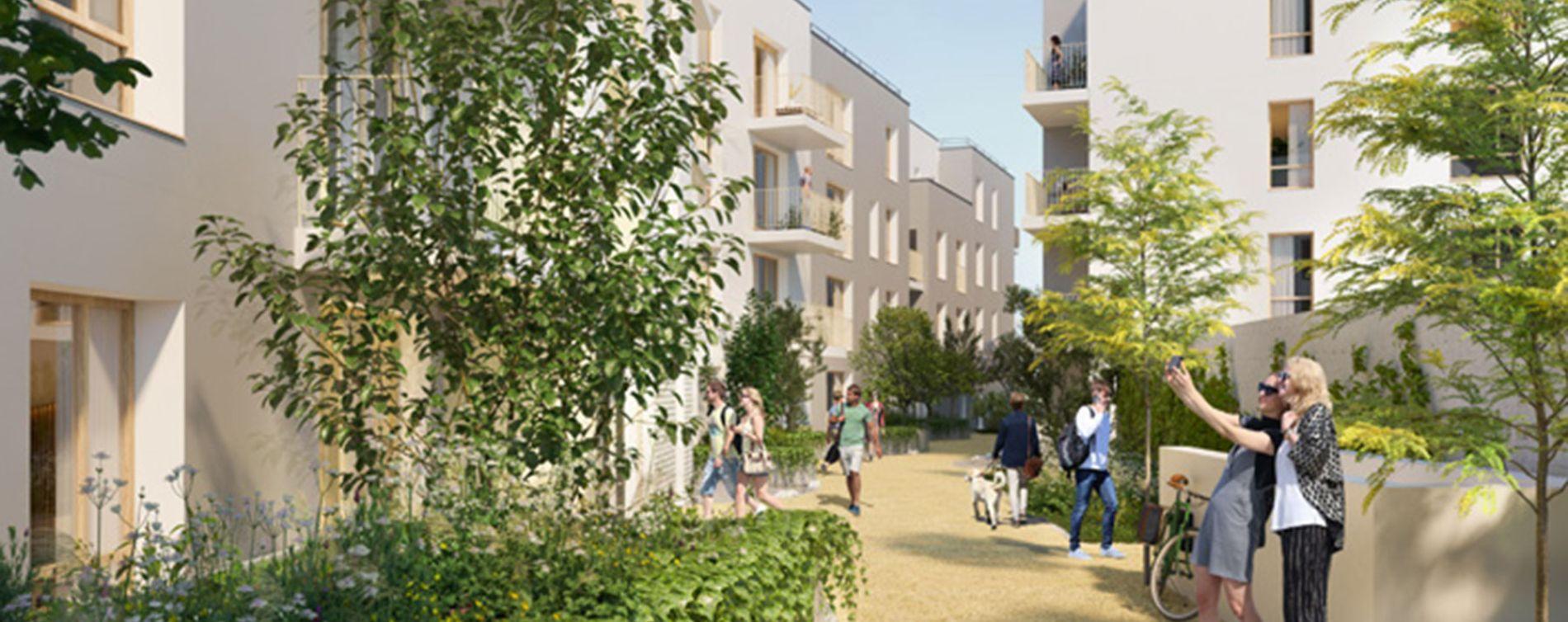 Pierrefitte-sur-Seine : programme immobilier neuve « La Place » (3)