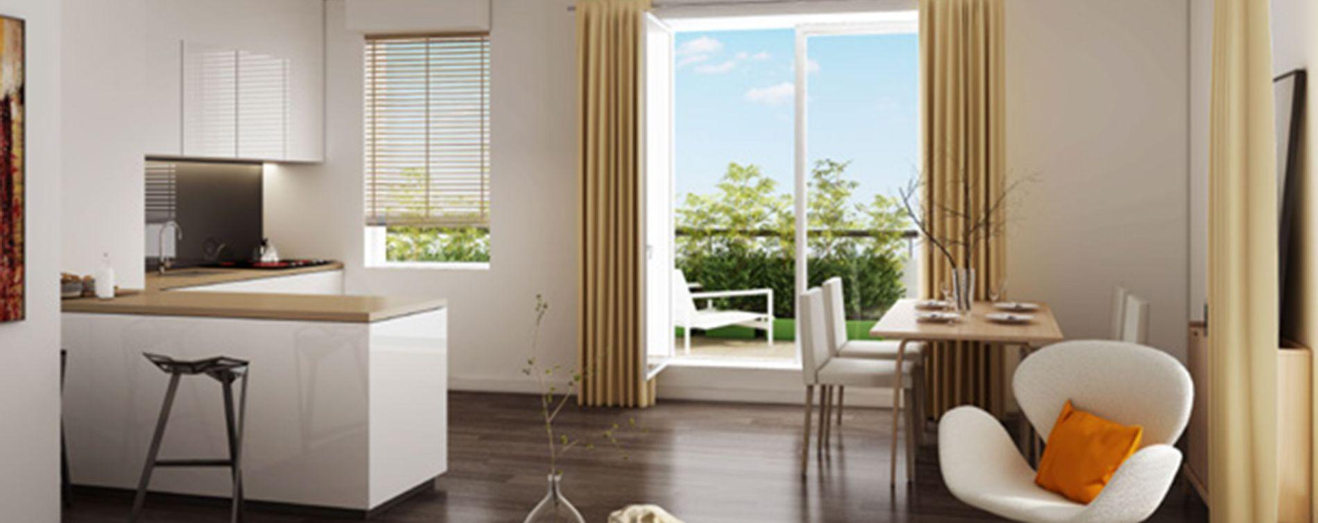Pierrefitte-sur-Seine : programme immobilier neuve « La Place » (4)