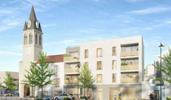 Photo du Résidence « La Place » programme immobilier neuf en Loi Pinel à Pierrefitte-sur-Seine