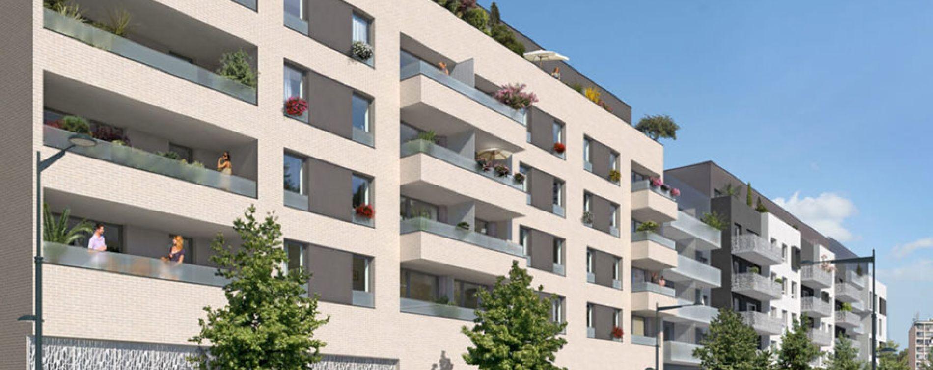 Résidence Les Balcons d'Opaline à Pierrefitte-sur-Seine