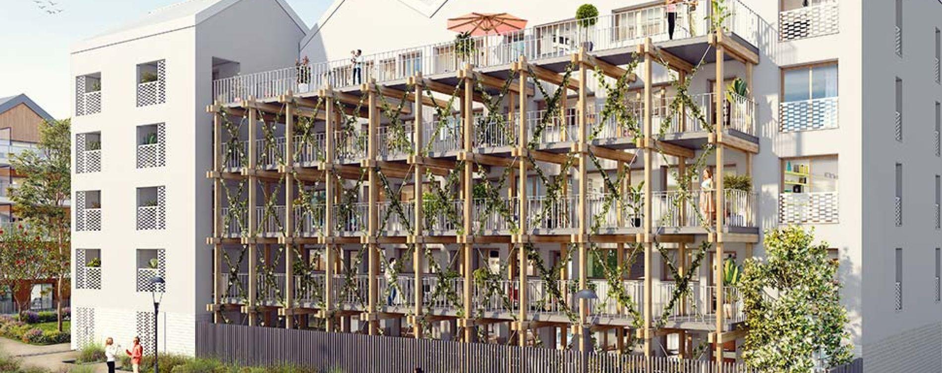 Pierrefitte-sur-Seine : programme immobilier neuve « Opaline » en Loi Pinel