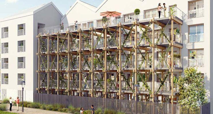 Pierrefitte-sur-Seine programme immobilier neuf « Opaline