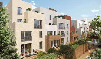 Romainville : programme immobilier neuf « Les Allées Douces » en Loi Pinel