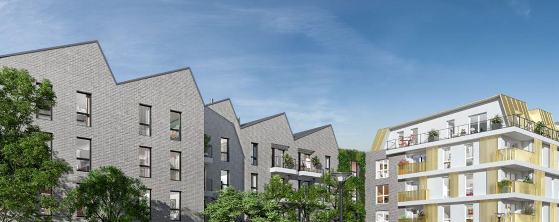 Romainville : programme immobilier neuve « Villa Saint-Germain »