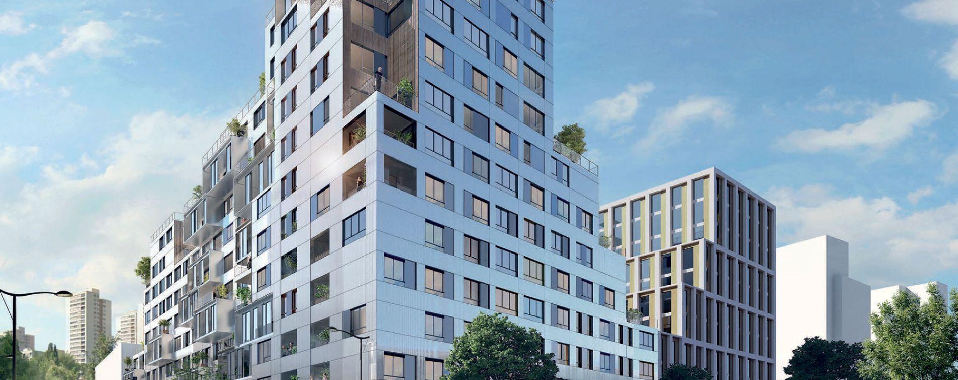 Rosny-sous-Bois : programme immobilier neuve « Reflecto »