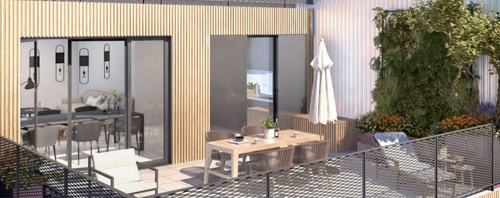 Rosny-sous-Bois : programme immobilier neuve « Reflecto » (2)