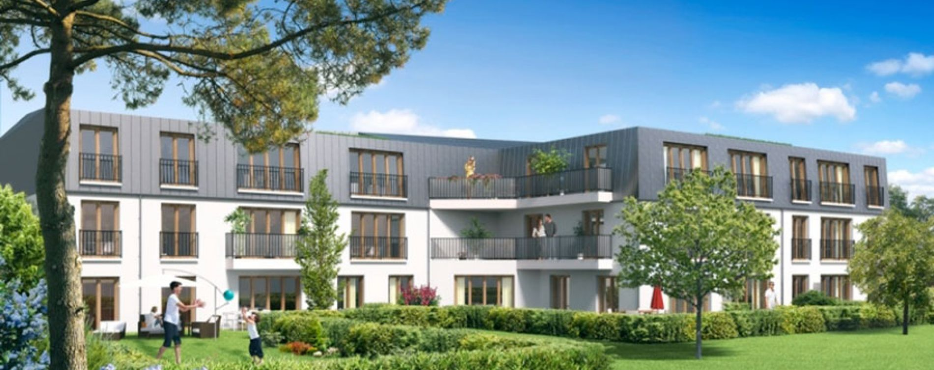 villa 125 rosny sous bois programme immobilier neuf n. Black Bedroom Furniture Sets. Home Design Ideas