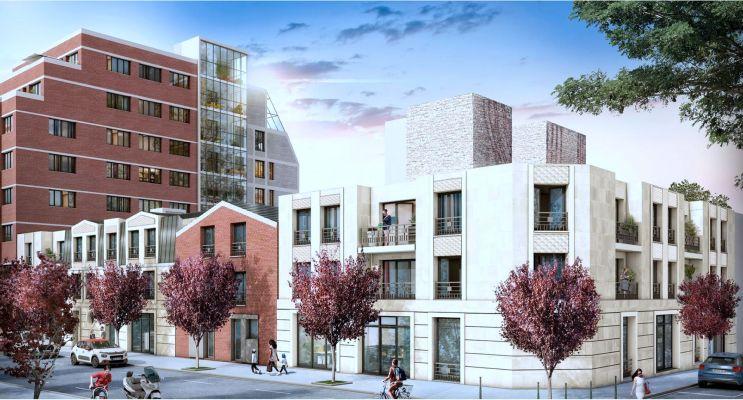 Saint-Ouen-sur-Seine : programme immobilier neuf «  n°216574 » en Loi Pinel