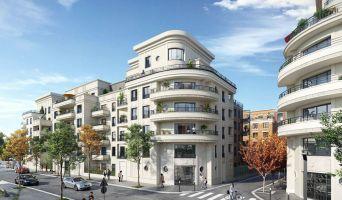 Saint-Ouen-sur-Seine : programme immobilier neuf « Le Corner - Upside » en Loi Pinel