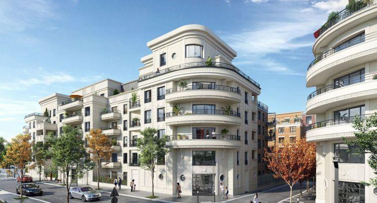 Photo du Résidence « Le Corner - Upside » programme immobilier neuf en Loi Pinel à Saint-Ouen-sur-Seine