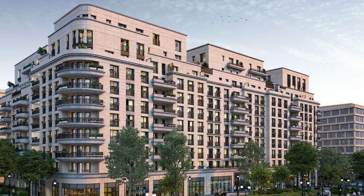 Photo du Résidence « Néo Déco » programme immobilier neuf en Loi Pinel à Saint-Ouen-sur-Seine
