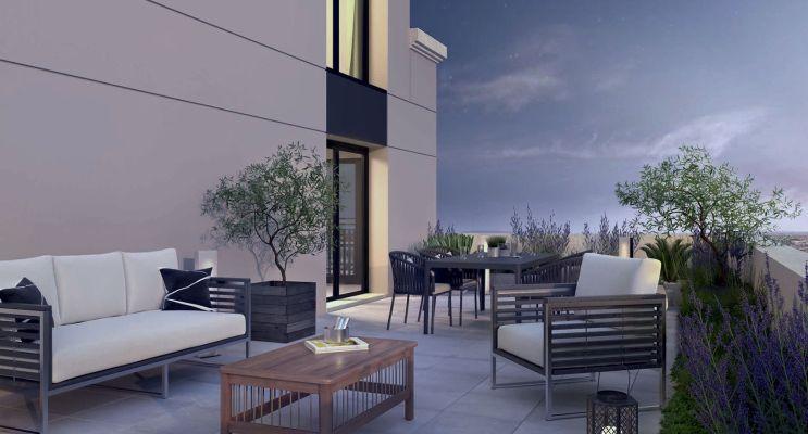 Photo n°2 du Résidence « Néo Déco » programme immobilier neuf en Loi Pinel à Saint-Ouen-sur-Seine