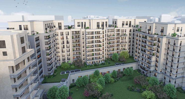 Photo n°3 du Résidence « Néo Déco » programme immobilier neuf en Loi Pinel à Saint-Ouen-sur-Seine