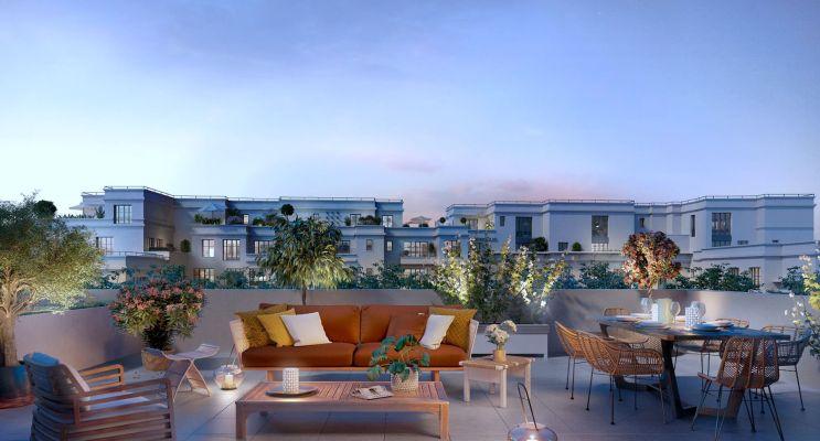 Photo du Résidence « Rue Pablo Picasso - Bât. A » programme immobilier neuf à Saint-Ouen-sur-Seine