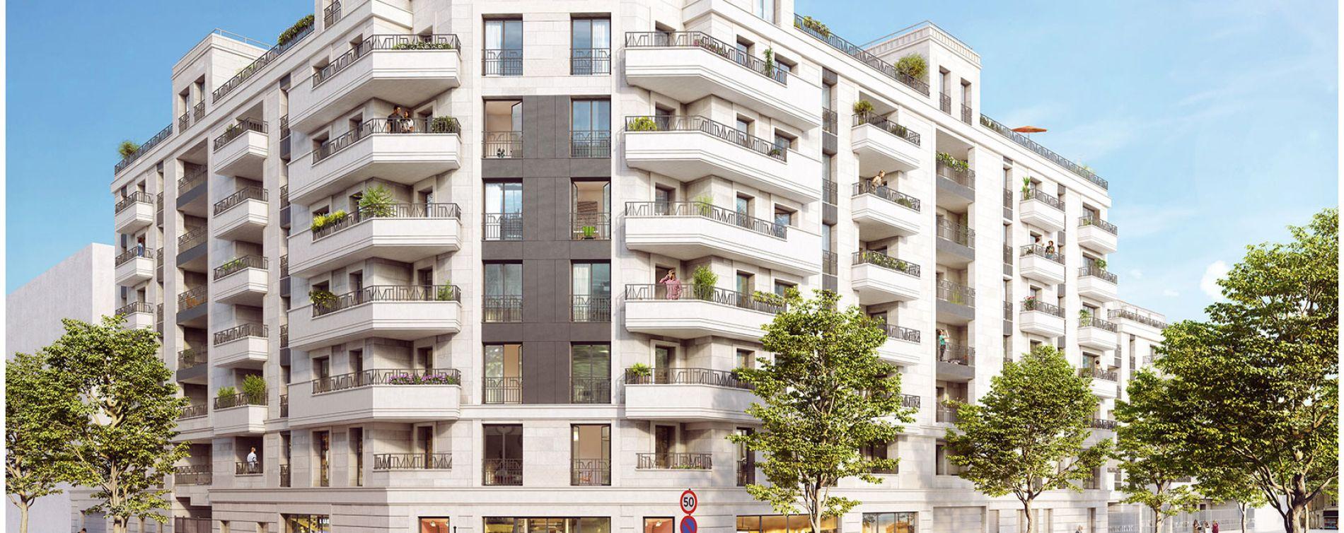 Saint-Ouen-sur-Seine : programme immobilier neuve « Society »
