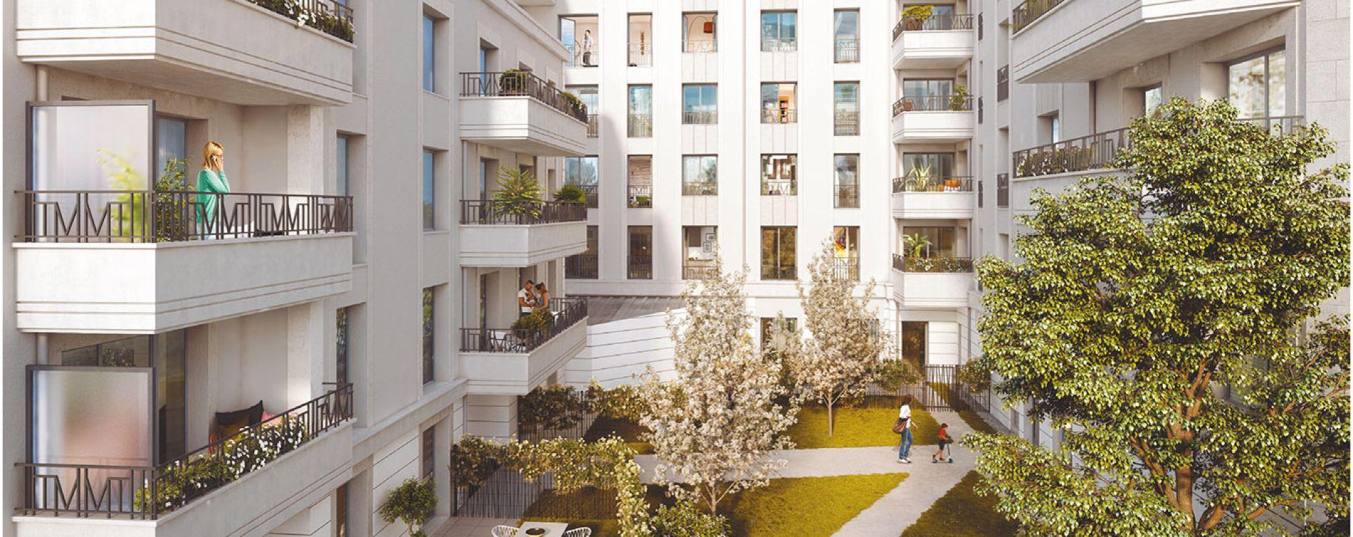 Saint-Ouen-sur-Seine : programme immobilier neuve « Society » (2)