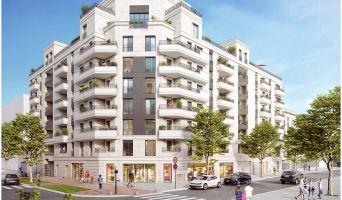 Photo du Résidence « Society » programme immobilier neuf en Loi Pinel à Saint-Ouen-sur-Seine