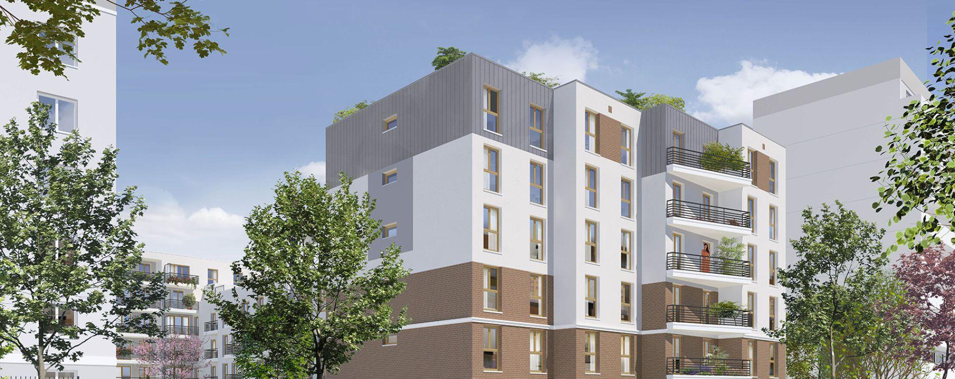 Stains : programme immobilier neuve « Côté Parc » en Loi Pinel