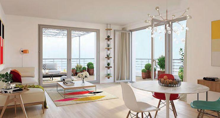 Résidence « Val Setenis » programme immobilier neuf en Loi Pinel à Stains n°2