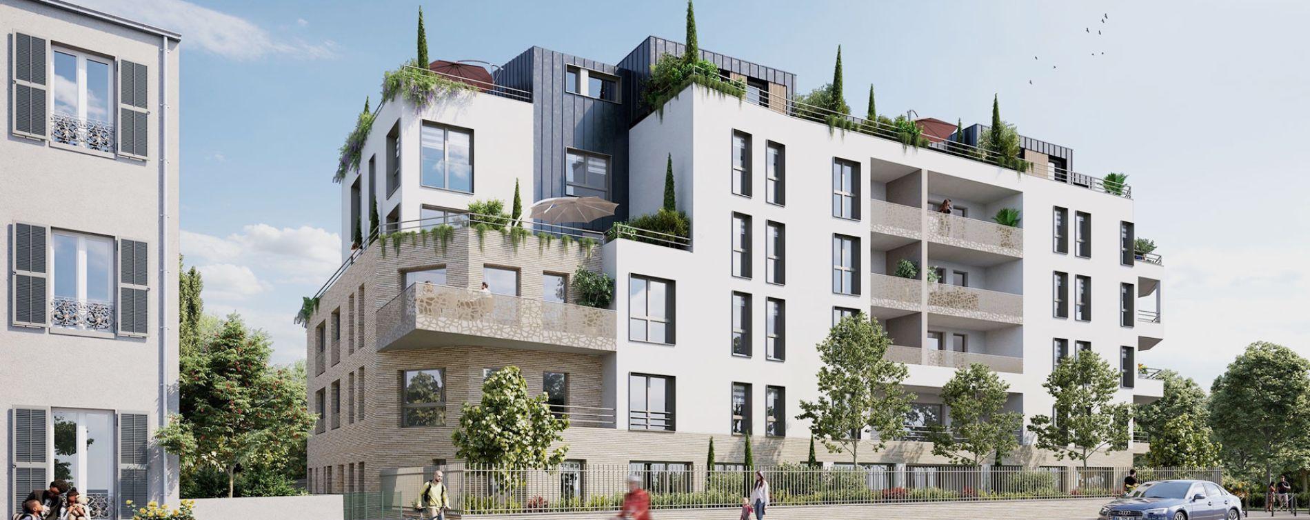 Villemomble : programme immobilier neuve « Le Carré Fontaine » en Loi Pinel