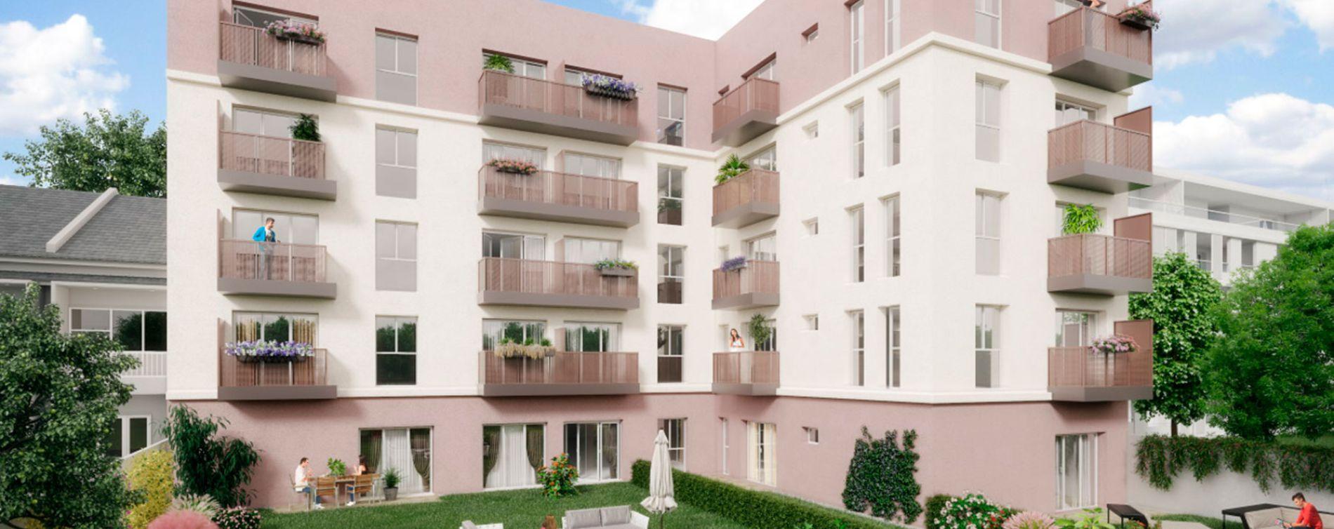 Villepinte : programme immobilier neuve « Côté Village »