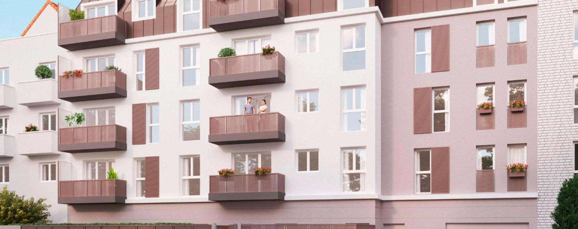 Villepinte : programme immobilier neuve « Côté Village » (2)