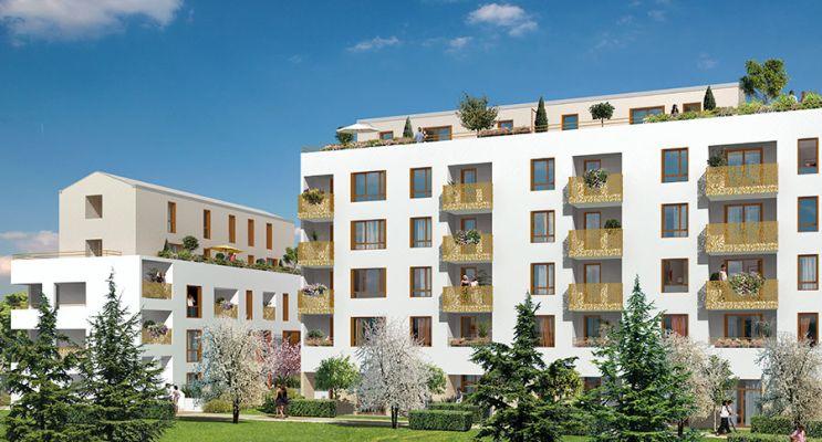 Résidence « Eloge » programme immobilier neuf en Loi Pinel à Villepinte n°2