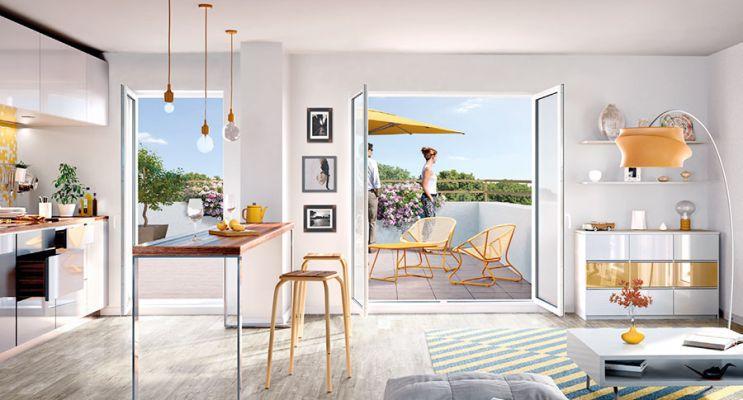 Résidence « Eloge » programme immobilier neuf en Loi Pinel à Villepinte n°5
