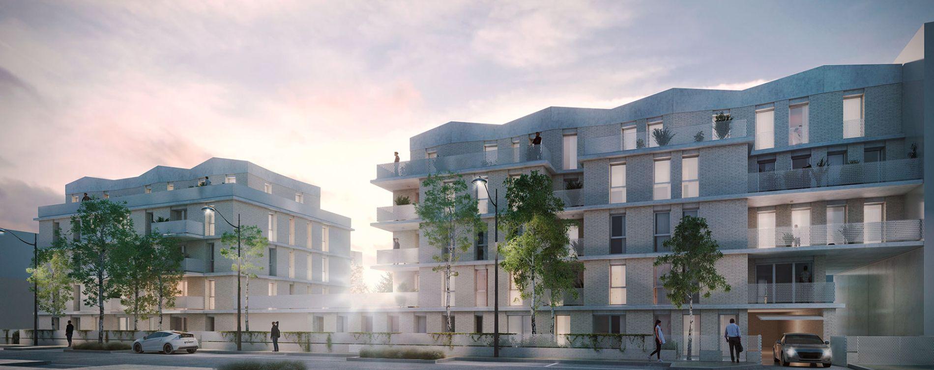 Villepinte : programme immobilier neuve « Greenwich »