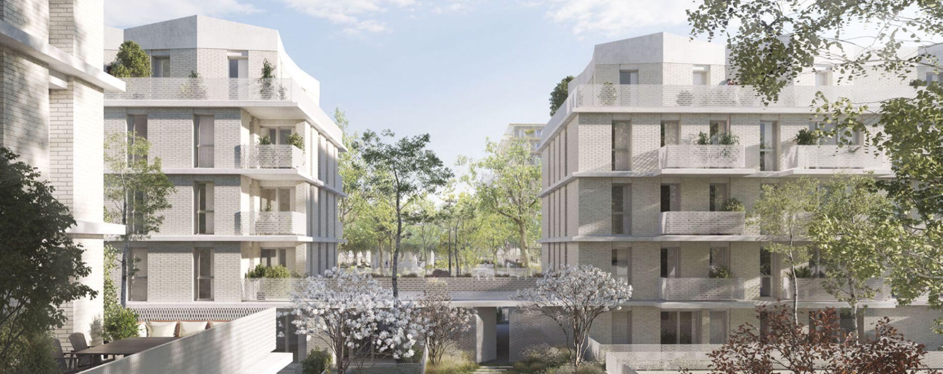 Villepinte : programme immobilier neuve « Greenwich » (2)