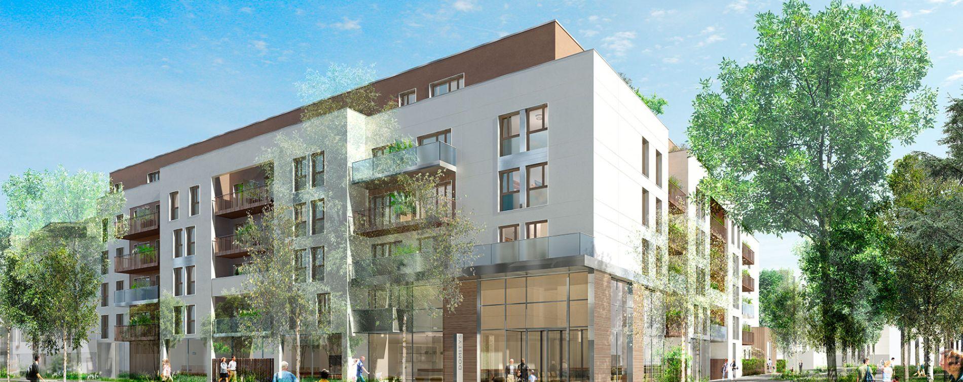 Villepinte : programme immobilier neuve « L'Aquarelle »