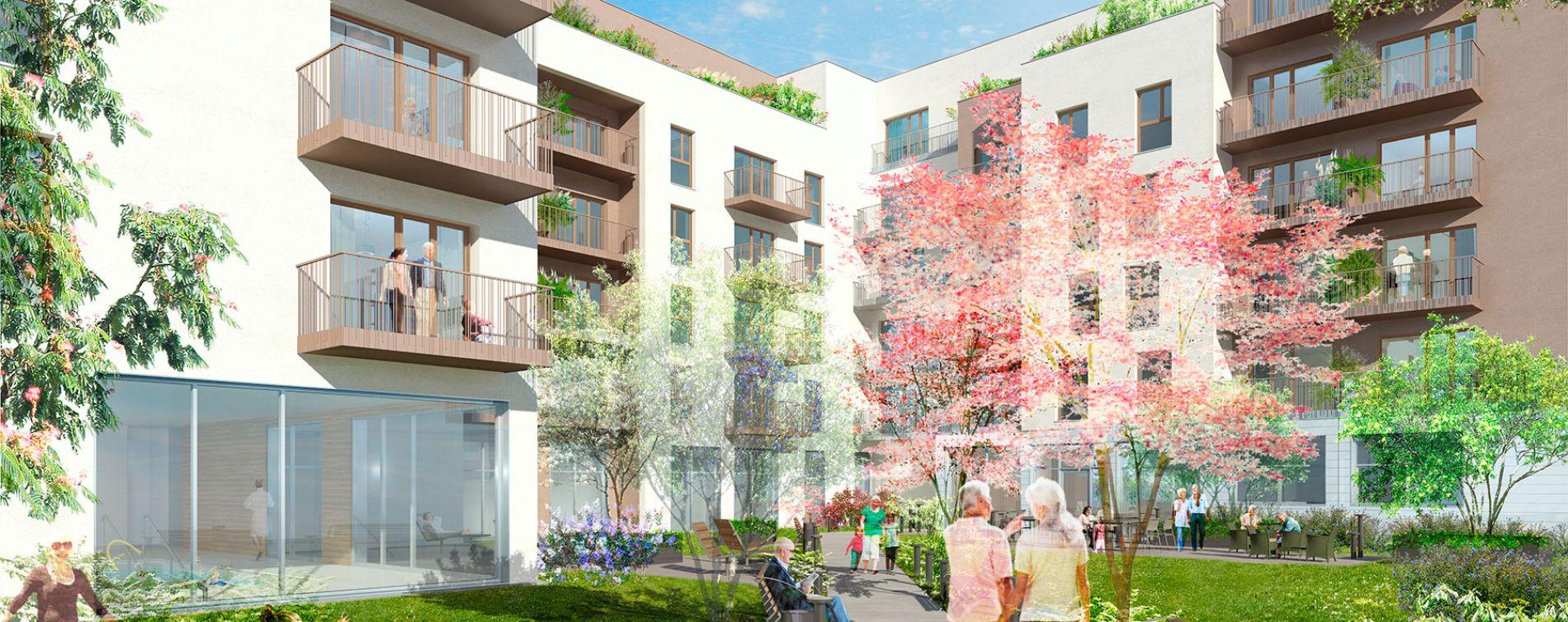 Villepinte : programme immobilier neuve « L'Aquarelle » (2)
