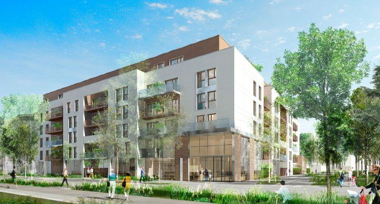 Photo du Résidence « L'Aquarelle » programme immobilier neuf à Villepinte