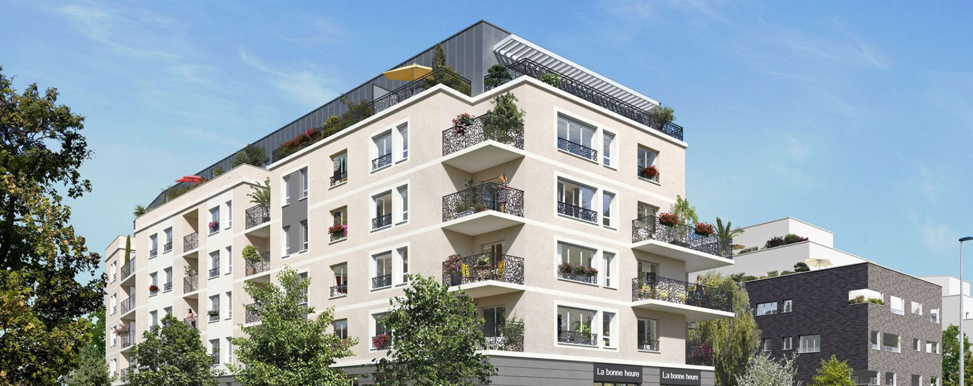 Villepinte : programme immobilier neuve « Le 175 » en Loi Pinel