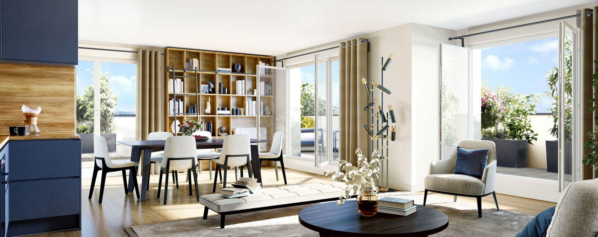 Villepinte : programme immobilier neuve « Le 175 » en Loi Pinel (3)