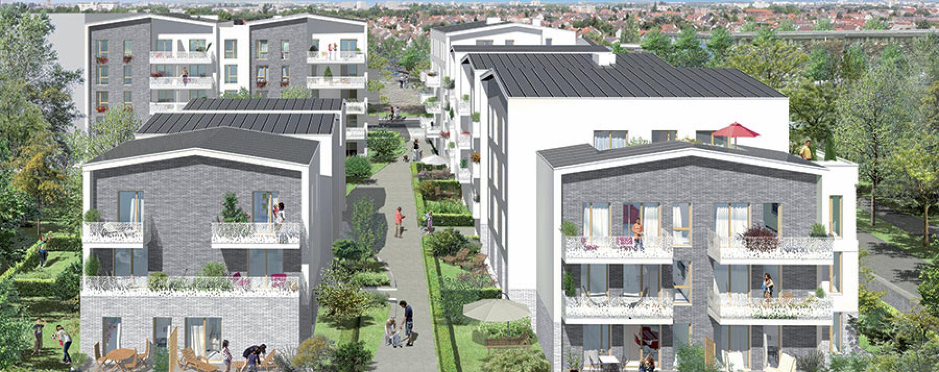 Villepinte : programme immobilier neuve « Orig'In » (2)