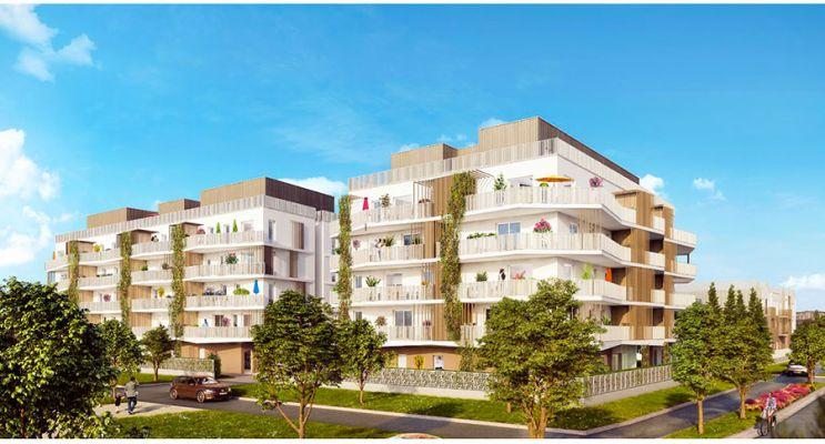 Résidence « Végétal » programme immobilier neuf en Loi Pinel à Villepinte n°1